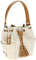 Tignanello Pebble Leather Drawstring Handbag