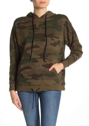 525 America Camouflage Drawstring Hood Sweater