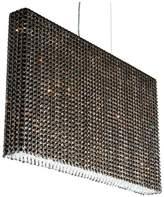 Schonbek Refrax 19-Light Pendant in Stainless Steel With Jaguar Crystals From Swarovski