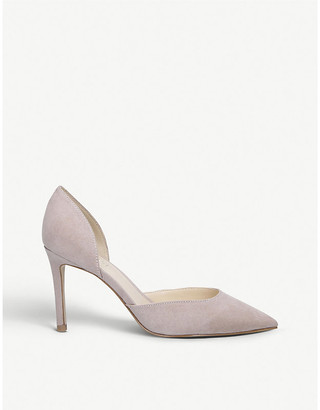 Nine West Eava suede heeled courts