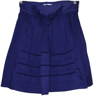Sonia Rykiel Sonia By Blue Cotton Skirt for Women