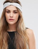 Glamorous Metallic Knot Headband