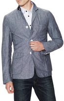 Blue Chambray Sportcoat