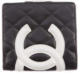Chanel Ligne Cambon Compact Wallet