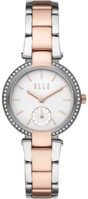 Elle Montmartre Two Tone Analogue Watch