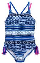 Tommy Bahama Printed Swimsuit (Toddler & Little Girls)