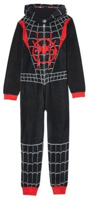 The Amazing Spiderman Spider-Man Boys Exclusive Hooded Pajama Blanket Sleeper, Sizes 4-12
