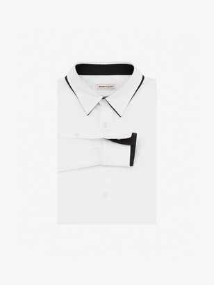 Alexander McQueen Double Collar Shirt