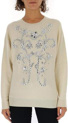 Paco Rabanne Crystal Detailed Pullover
