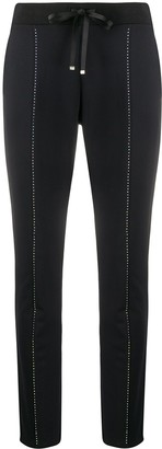 Liu Jo Embellished Track Trousers
