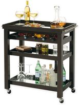 Howard Miller Pienza Wine andBar Cart in Dark Brown