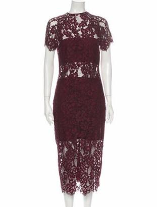 Alexis Lace Pattern Long Dress w/ Tags