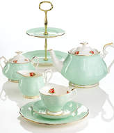 Royal Albert Polka Rose 12-Piece Set, A Macy's Exclusive Style