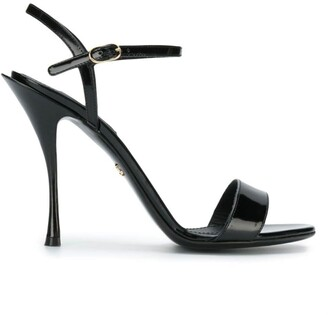 Dolce & Gabbana patent high heel sandals