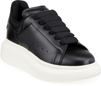 Alexander McQueen Summer Oversized Lace-Up Sneakers, Toddler/Kids