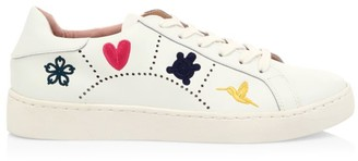 Jack Rogers Kennedy Leather Sneakers