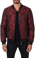 Jared Lang Men's New York Reversible Bomber Jacket