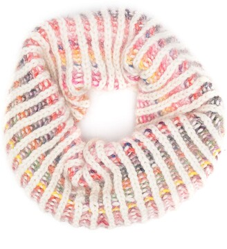 Tuinch Rib-Knit Striped Snood