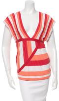 Chloé Linen Stripe Top