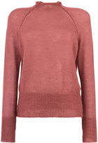 Forte Forte raw neck sweater - women - Silk/Mohair - 1