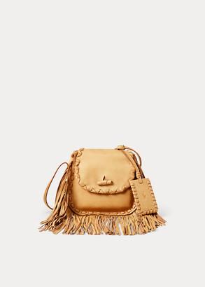 Ralph Lauren Leather Ridgeway Crossbody Bag