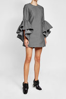 Marques Almeida Marques' Almeida Twill Dress with Voluminous Sleeves
