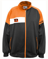 Majestic Men's Cincinnati Bengals Court Track Jacket