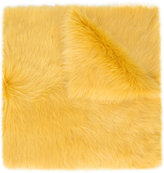 Rochas large stole - women - Lamb Skin/Lamb Fur - One Size