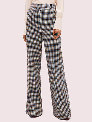 Kate Spade Pop Houndstooth Flare Pant
