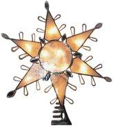 Kurt Adler Capiz Snowflake w/ Gem Lighted Treetop