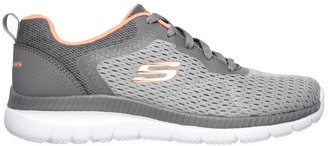 Skechers Bountiful - Quick Path 12607 Grey/Coral Sneaker