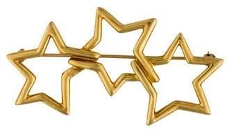 Tiffany & Co. 18K Star Brooch
