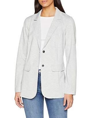 Street One Women's 2957 Suit Jacket, (Cyber Grey Melange 767), UK 8