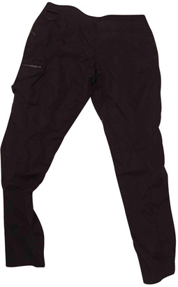 Prada Black Cloth Trousers