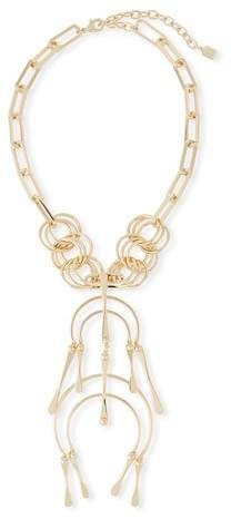 Dannijo Kammy Double-Drop Statement Necklace