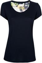 Paul Smith Black Label floral back t-shirt