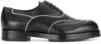 Pierre Hardy Contrast Piping Lace-Up Shoes