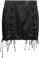 Unravel Project laced mini skirt