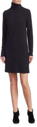 Majestic Filatures Viscose-Elastane French Terry Turtleneck Dress