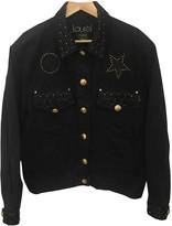 Laurèl Black Cotton Jacket for Women