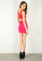 Singer22 Cut Out Dress - by Lucca Couture