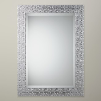John Lewis & Partners Cassandra Rectangular Wall Mirror