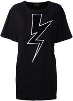 Neil Barrett Lightning Bolt T-shirt - women - Cotton - XXS