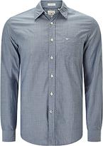 Dockers Laundered Poplin Cotton Shirt, Huff Moonlit Ocean