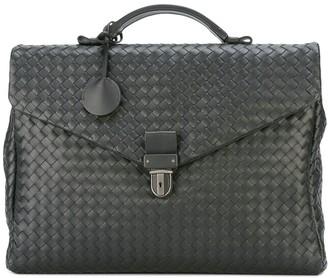 Bottega Veneta intrecciato weave small briefcase