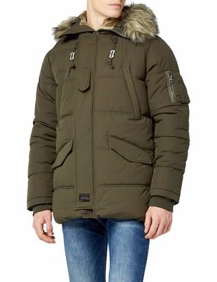 Schott NYC Men's Snork Parka Long Sleeve Jacket