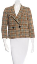 Etro Plaid Crop Jacket