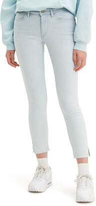 Levi's Women's 711 Skinny Sculpting Ankle Jeans