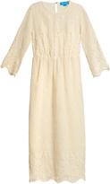 MiH Jeans Arata macramé-lace cotton dress