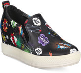 Wanted Avenger Comic Hidden Wedge Sneakers Women's Shoes